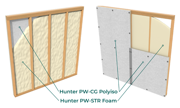 PUReWall Hunter Assembly tags