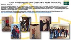 Hunter Corporate Gives Habitat tmb