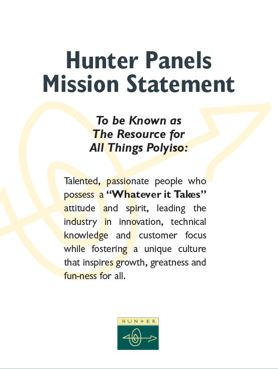 Hunter Culture Mission Statement web
