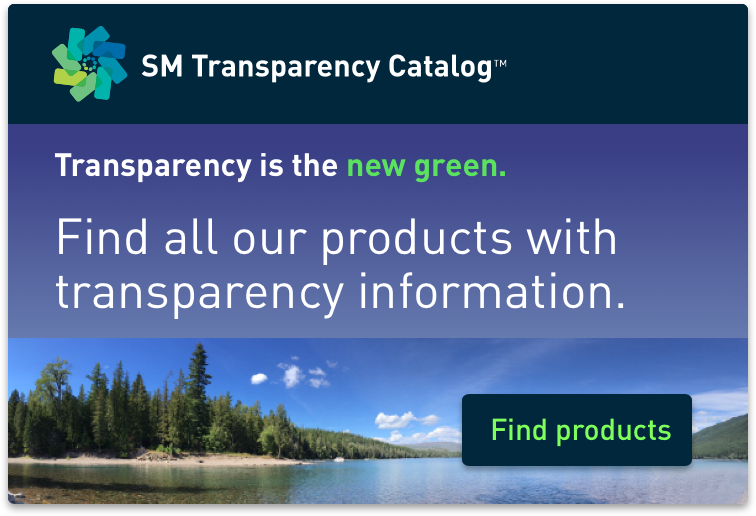 SM Transparency Catalog badge