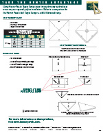 4x4 Target Sump Advantage Sheet - Comparison with Field Fabrication Cuts