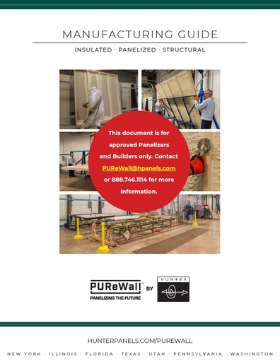 PUReWall™ Manufacturing Guide