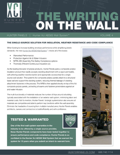 Hunter Panels Newsletter - Vol 4 - The Xci AEGIS Wall System