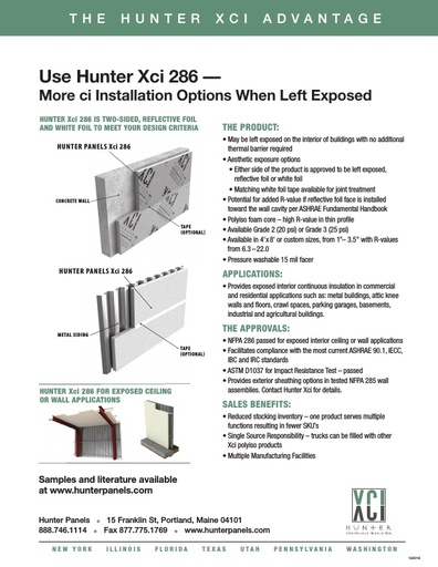 Hunter Xci 286 Advantage