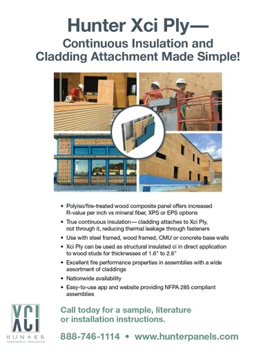 Continuous Insulation and Cladding Attachment Made Simple!