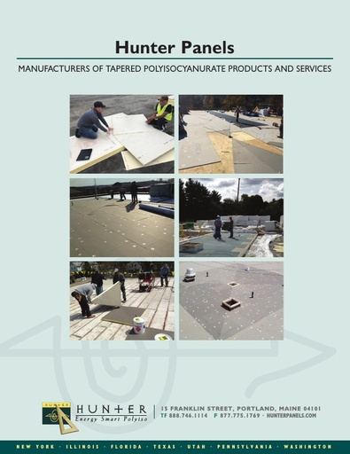 Tapered Products Brochure 2019