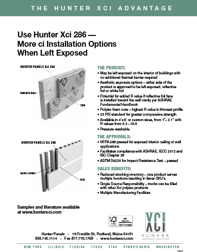 Hunter Xci CG Stucco advantage